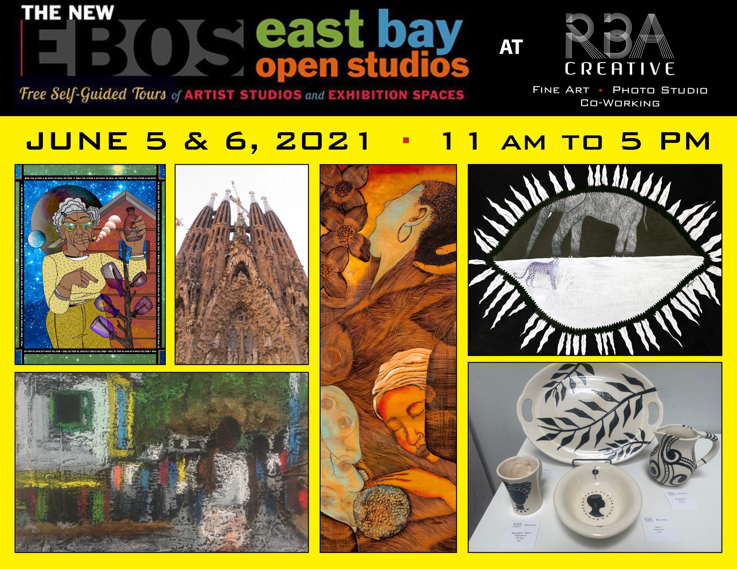 East Bay Open Studios 2021 at RBA Creative