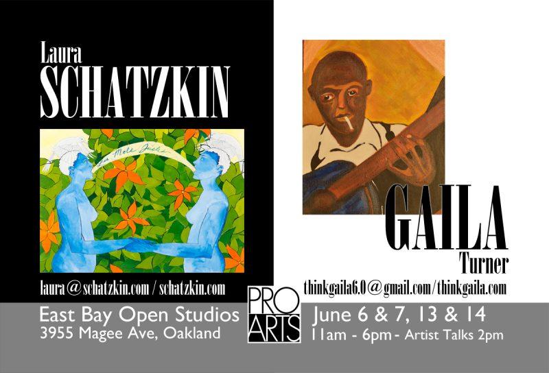 ProArts East Bay Open Studios featuring Laura Schatzkin and Gaila Turner