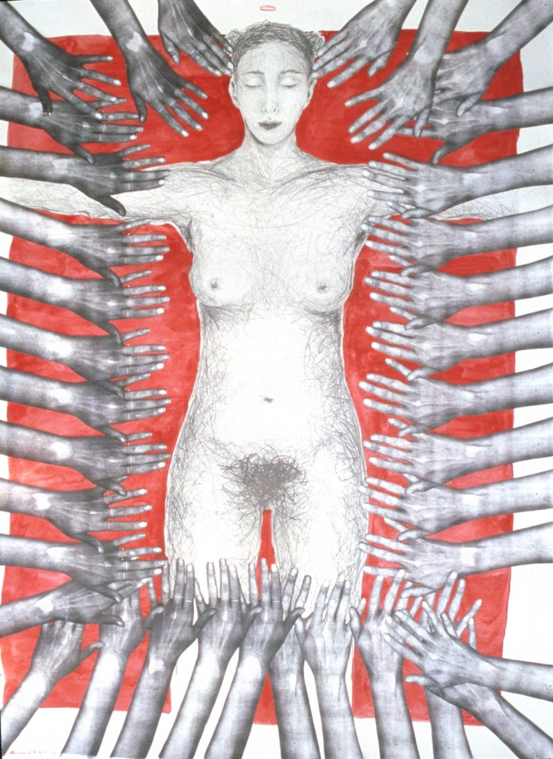 madonna of the 36 hands