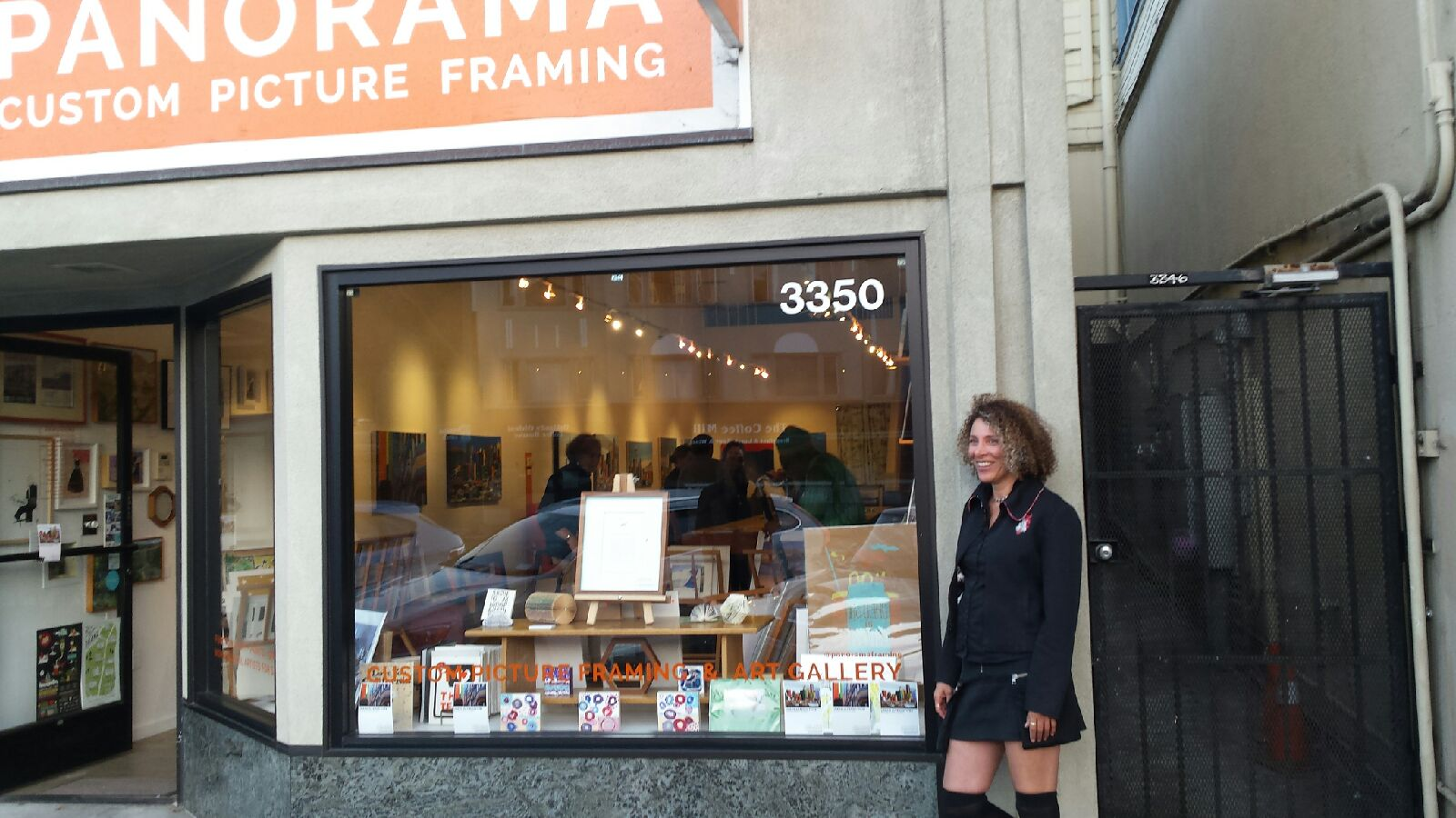 laura schatzkin at panorama framing