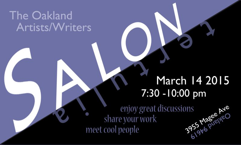 Oakland Artists & Writers Salon