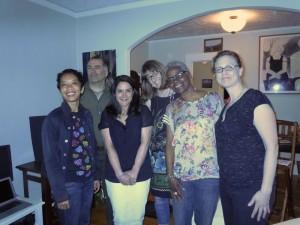Oaland Artists and Writers Salon members